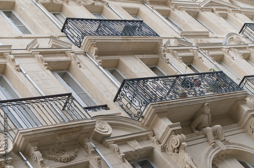 Immobilier de luxe et hôtel particulier à Bordeaux, France Fototapet