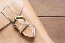 Detail Of Genuine Leather Bag ...