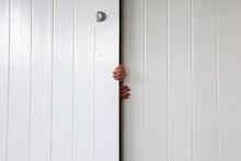 Children Hands Opening Entranc...