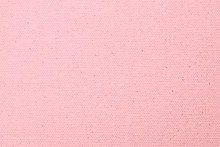 Hessian Sackcloth Woven Texture Pattern Background In Light Sweet Valentines Pink Color
