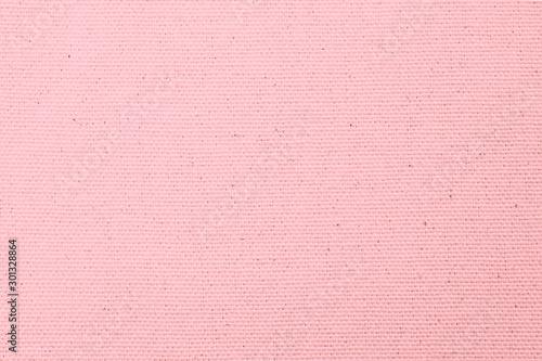 Fényképezés Hessian sackcloth woven texture pattern background in light sweet valentines pin