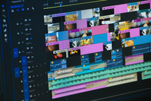 Video Time Line Video Editor W...