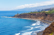 Sunny day at the beach of north Tenerife