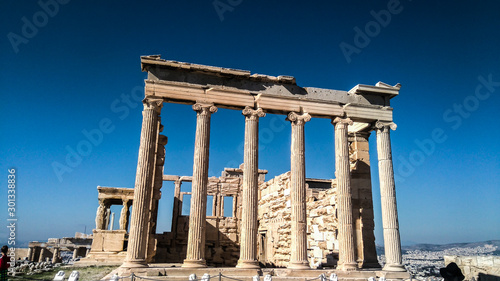 Ancient Parthenon in Acropolis Athens Greece Wallpaper Mural
