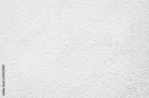 Fototapeta White wall background painted in light grey color with grunge texture background rustic concrete wall obraz