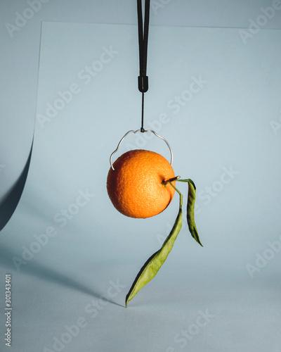 Canvastavla naranja
