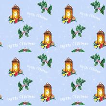 Christmas Seamless Background ...