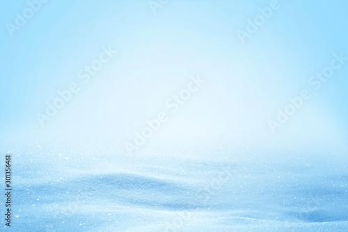 Valokuvatapetti Natural sunny winter snow drifts background.