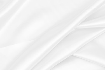 white fabric texture soft blur background