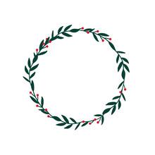 Christmas Winter Wreath. Ideal...
