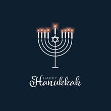 Happy Hanukkach Day Card Template