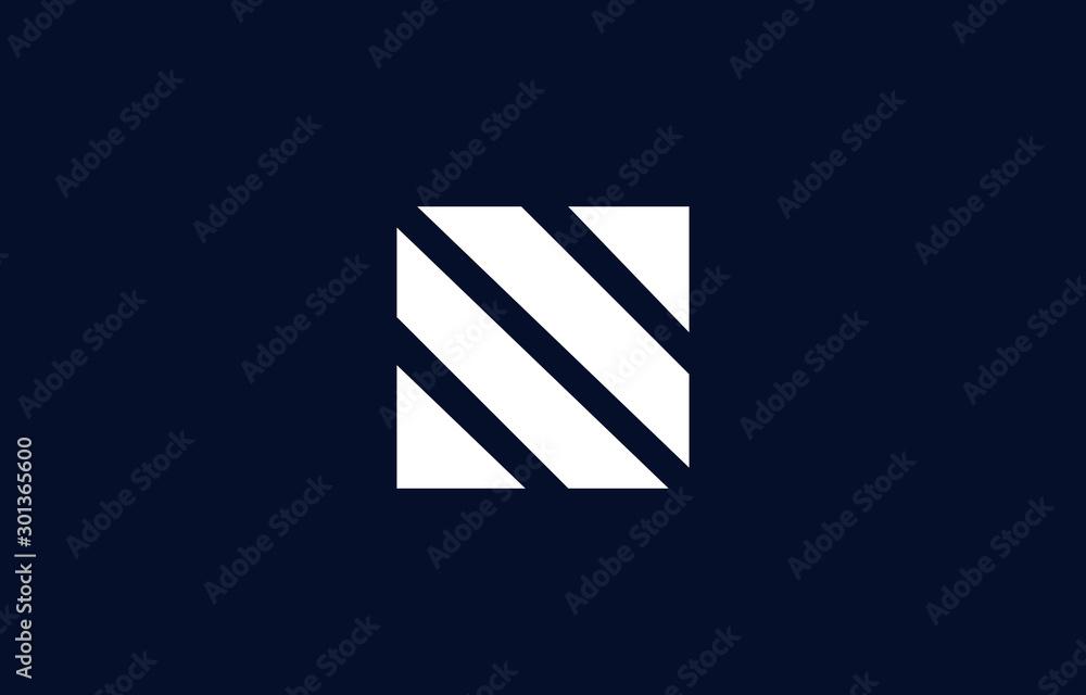 Fototapety, obrazy: Initial based clean and minimal N Logo. N letter creative fonts monogram icon symbol. Universal elegant luxury alphabet vector design