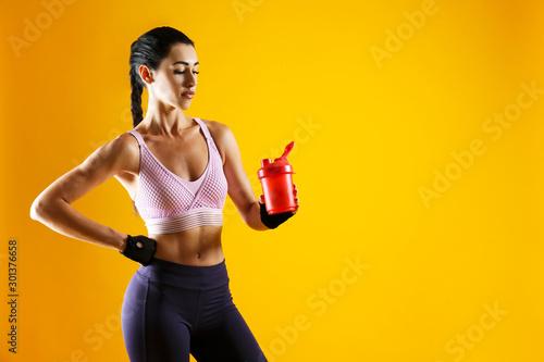 Fotografía  Cropped shot of young beautiful woman in great shape