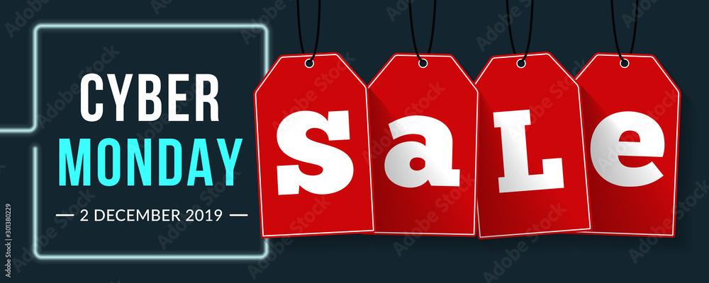 Fototapeta Cyber Monday Sale