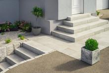 Modern Granite External Stairc...
