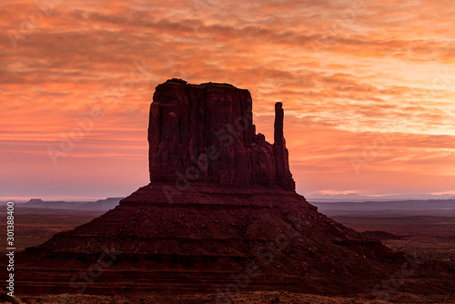 Poster Corail monument valley