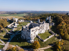 The Ruins Of Medieval Castle O...