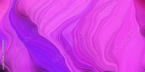canvas print motiv - Eigens : abstract colorful waves motion. can be used as wallpaper, background graphic or texture. graphic illustration with medium orchid, blue violet and indigo colors