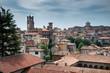 view of Bergamo italy