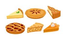 Homemade Cartoon Pies And Cake...