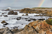 Rainbow Over The Pacific Ocean...