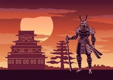 Knight Of Japan Called Samurai...
