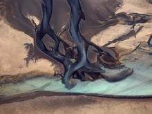 Glacial River Tails. The Aeria...