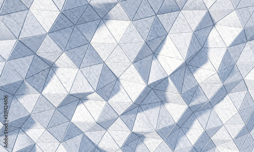3d-rendering-of-a-geometric-background