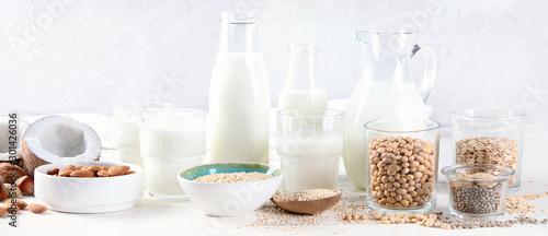 Photo Vegan non diary milk