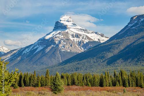 Scenic mountain views in Banff, Canada