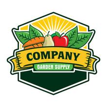 Fruit And Vegetables Logo