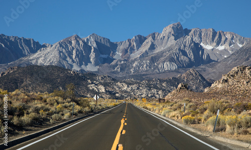 Vászonkép  Sierra Nevada Mountains