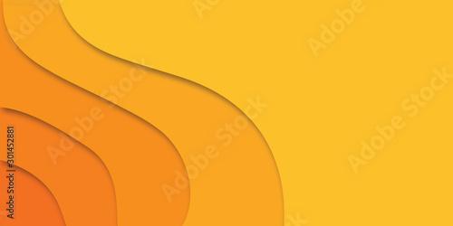 Obraz Orange abstract background - fototapety do salonu