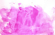 canvas print picture - Abstract watercolor background hand-drawn on paper. Volumetric smoke elements. Pink color. For design, web, card, text, decoration, surfaces.