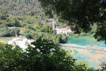 Bridge Over The Krka River In ...