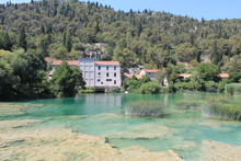 Krka River In The Nature Reser...