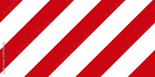 Red and white stripes background Obraz na płótnie