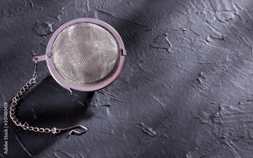 Fotografie, Tablou  Ball infuser with tea chain