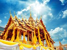 Phra Maha Prasat Group In The Royal Grand Palace, Phra Borom Maha Ratcha Wang - One Of The Most Popular Tourist Attractions In Bangkok, Thailand