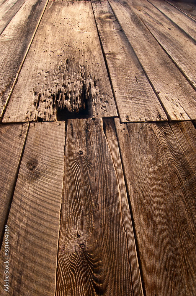 Fototapety, obrazy: Barn Close-up