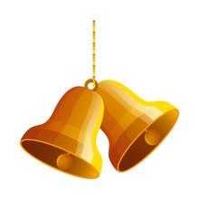Bells Christmas Hanging Design