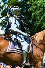 Knights Mounted On Horseback P...
