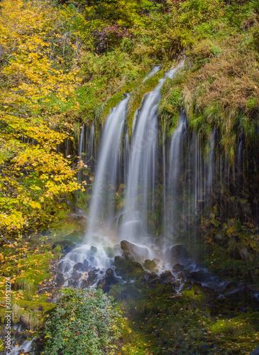 Mossbrea Waterfall in Dunsmuir California