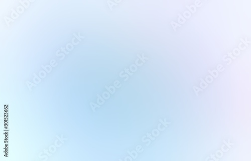 Fresh air blurry background. Clear clean sky abstract pattern. White blue texture. Light cool illustration.