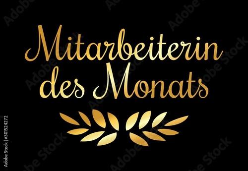 Photo Mitarbeiterin des Monats (Gold)