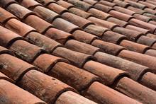 Old Roof Tile. Corner Texture ...