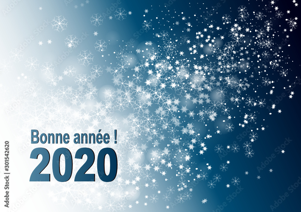 Fototapeta 2020 - Meilleurs vœux