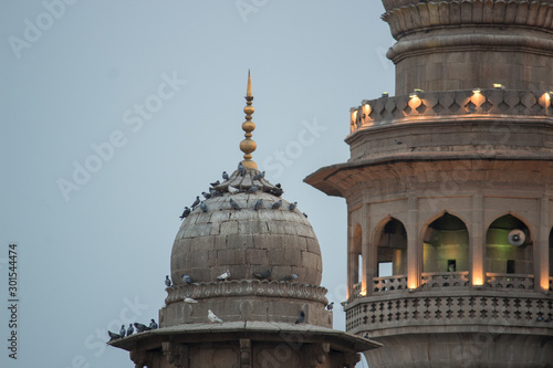 View of Mecca Masjid (Mosque), Hyderabad