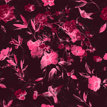 Seamless Floral Background Pat...