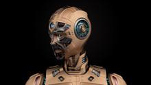 Portrait Of A Detailed Futuris...
